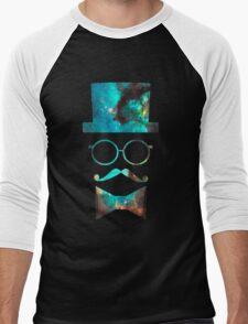 Green Galaxy Fancy Men's Baseball ¾ T-Shirt