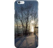 Long Shadows in the Snow iPhone Case/Skin
