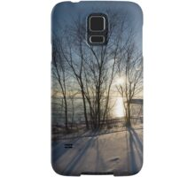 Long Shadows in the Snow Samsung Galaxy Case/Skin