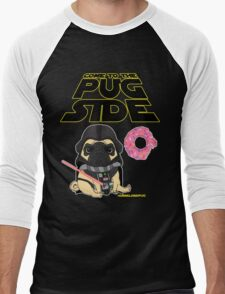 Come to the Pug Side Men's Baseball ¾ T-Shirt
