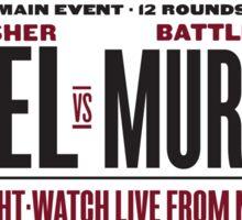 Creel vs Murdock Sticker