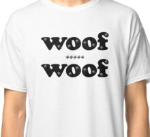 Woof Woof Leather and Studs Classic T-Shirt
