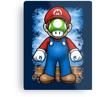 Plumber of Man Metal Print
