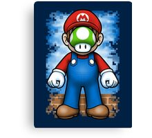 Plumber of Man Canvas Print