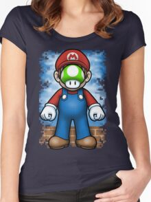 Plumber of Man Women's Fitted Scoop T-Shirt
