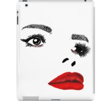 Painted Lady Red Gloss iPad Case/Skin