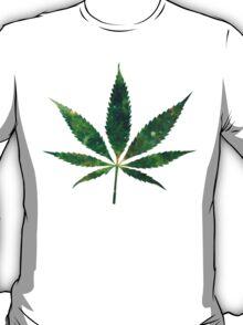 Galaxy Pot Leaf T-Shirt