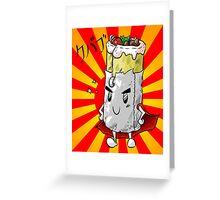 Super Dürum Greeting Card