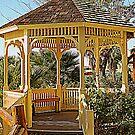 Quaint Gazebo by kkphoto1