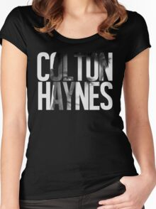 Colton Haynes Women's Fitted Scoop T-Shirt