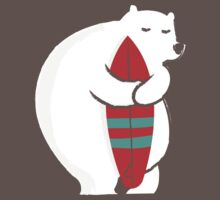 Surfing Polar Bear Kids Clothes
