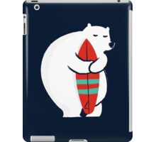 Surfing Polar Bear iPad Case/Skin