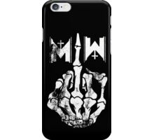 Motionless In White Middle Finger WHITE iPhone Case/Skin