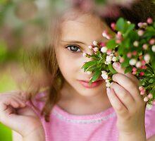 Through the Bloom  by laruecherie