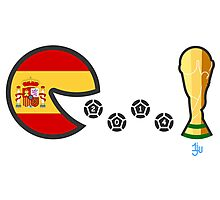 Spain World Cup 2014 Photographic Print