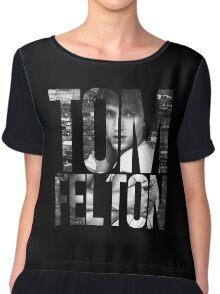 Tom Felton Chiffon Top