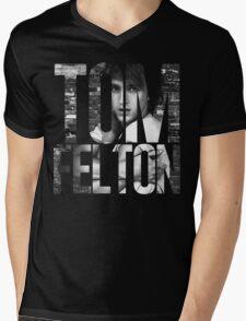 Tom Felton Mens V-Neck T-Shirt
