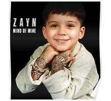 Zayn - Mind Of Mine Album Poster