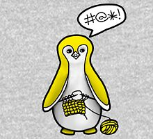 Yellow Knitting Penguin T-Shirt