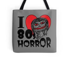 I Love 80s Horror Tote Bag