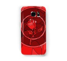 Stained Glass Rose Red Samsung Galaxy Case/Skin