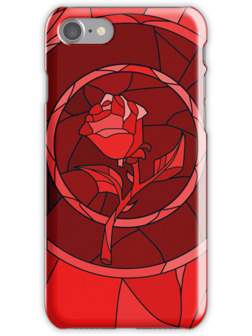 Stained Glass Rose Red by rapplatt