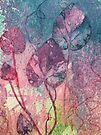Violet Leaves by Val Spayne