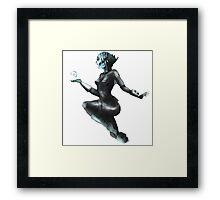 Fish Lady Hero/Comic Art Framed Print