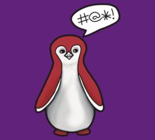 Angry Red Penguin by veronicapelkow