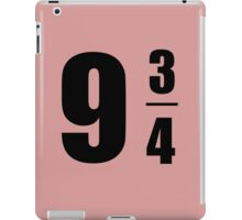 9 3/4 iPad Case/Skin