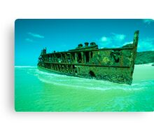 Shipwrecked. Canvas Print