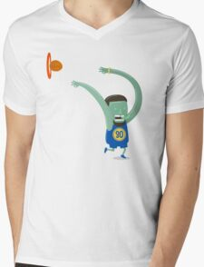 Stephen Curry Cooking Mens V-Neck T-Shirt