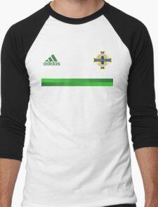 Northern Ireland Football - EURO 2016 UEFA Men's Baseball ¾ T-Shirt
