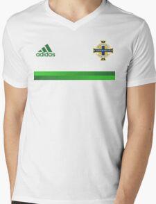 Northern Ireland Football - EURO 2016 UEFA Mens V-Neck T-Shirt