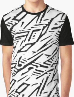 Music/Humour - Lane Boy Pattern Graphic T-Shirt