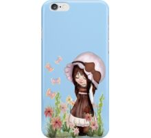Girl Dreaming in the Garden iPhone Case/Skin