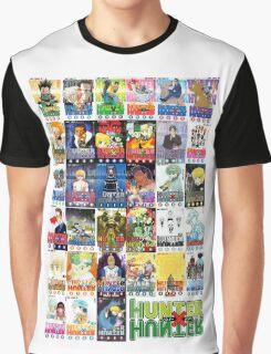 Hunter x Hunter manga covers Graphic T-Shirt