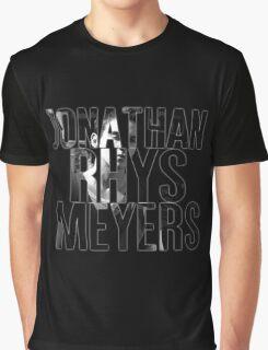 Jonathan Rhys Meyers Graphic T-Shirt