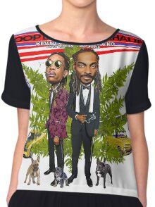 endi2 Snoop Dogg The High Road Summer Tour 2016 Chiffon Top