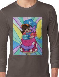 Girl on a Mushroom  Long Sleeve T-Shirt