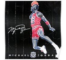 Michael Jordan The Legend Are Forever Poster