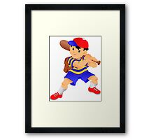 Ready for battle - Ness Framed Print