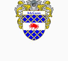 McCann Coat of Arms/Family Crest Unisex T-Shirt