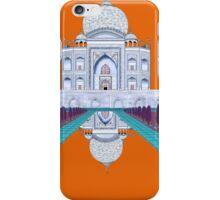A Still Day in Agra (orange) iPhone Case/Skin