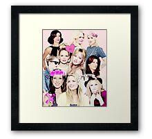 Jennifer Morrison, Kate Walsh, Dianna Agron 2 Framed Print