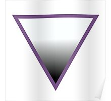 ASEXUAL SYMBOL Poster