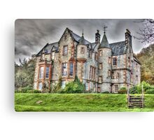 Shambellie House New Abbey Dumfries Galloway HDR Photo Canvas Print