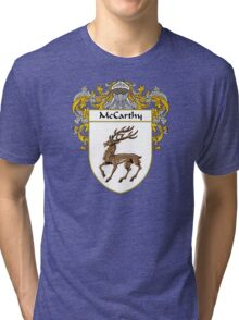 McCarthy Coat of Arms/Family Crest Tri-blend T-Shirt