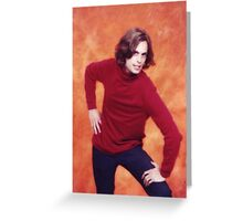 MATTHEW GRAY GUBLER TURTLENECK Greeting Card