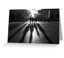 Shadows of the Beatles Greeting Card